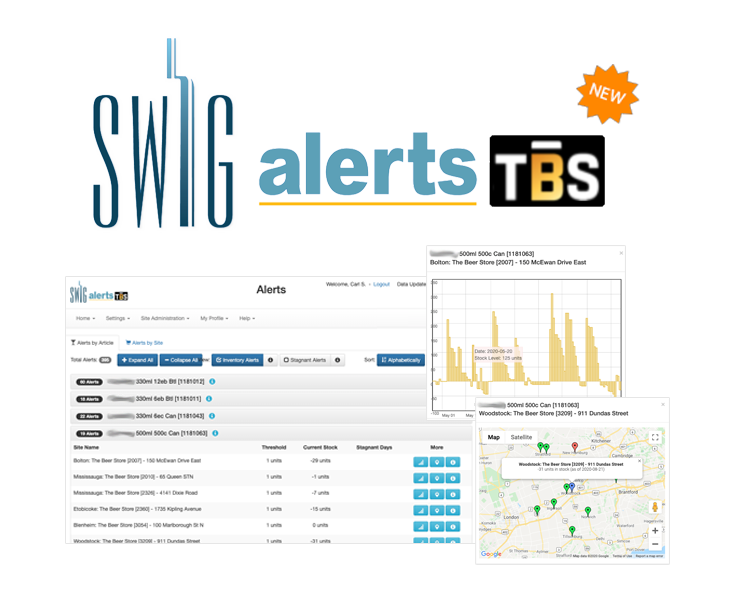 SWIG Alerts TBS - Inventory Insights for Brewers